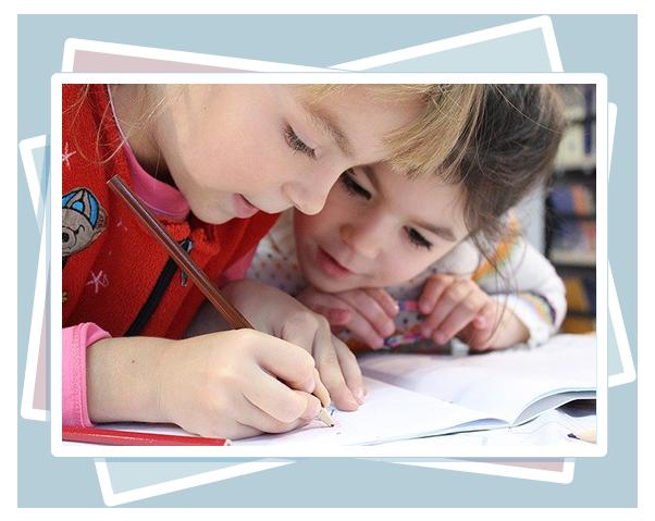 píšící děti